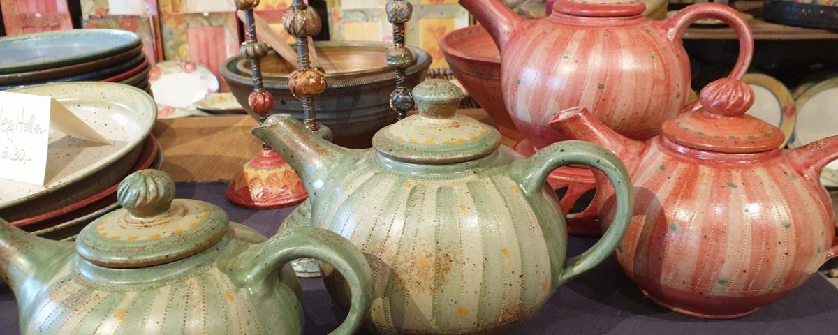 Neue Teekannen